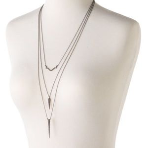 NIB Stella & Dot Fontaine Layering Necklace